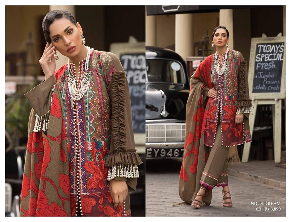 Sana Safinaz Winter Sahwl Collection 13