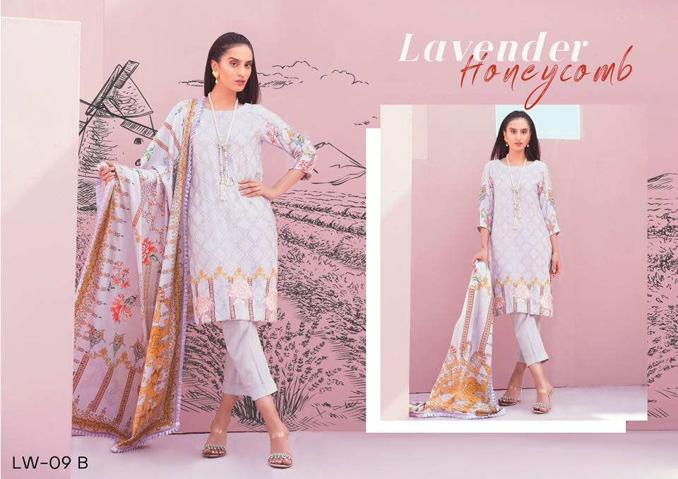 Senorina Linen Collection By Qalamkar 19